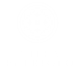 logo villa petriolo blanco